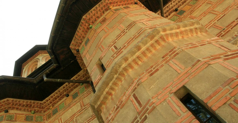 Mănăstirea Cornet - detaliu arhitectură exterioară